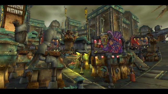 Einst waren die Goblins eher ein neutrales Volk, welches sich aber schlußendlich zur Horde bekannt hat.