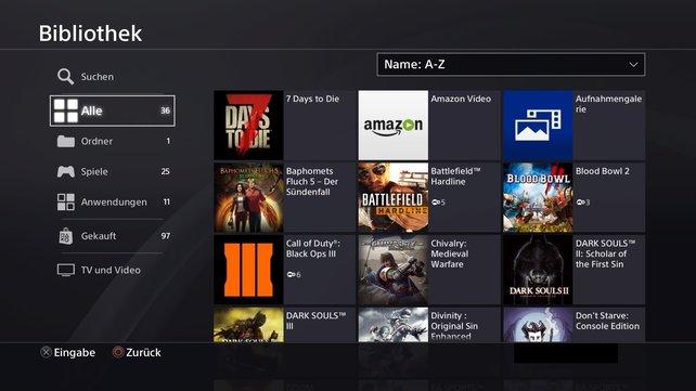 Endlich könnt ihr Ordnung in eure PlayStation 4 bringen!