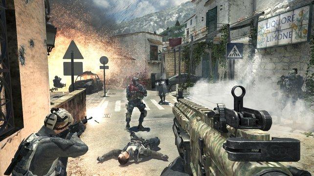 Alle zwei Sekunden kauft jemand auf dem Globus ein Call of Duty. Allein Modern Warfare 3 wurde fast 27 Millionen Mal verkauft.