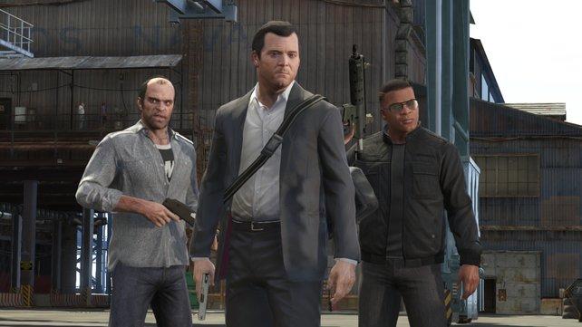 Wird es Michael, Trevor und Franklin bald auch auf dem PC und der PS4 geben?