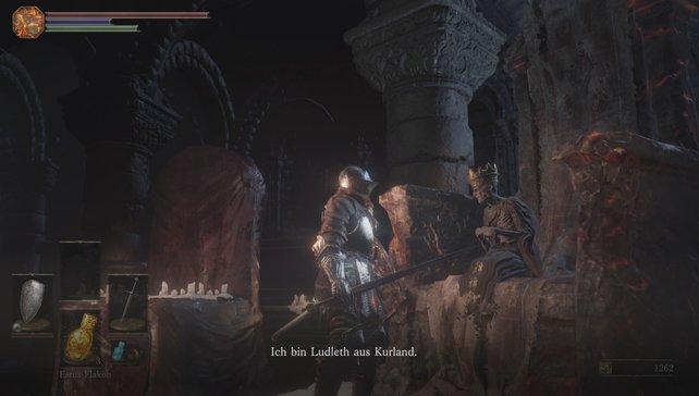 Ludleth könnt ihr direkt nach dem ersten Treffen im Schrein töten.