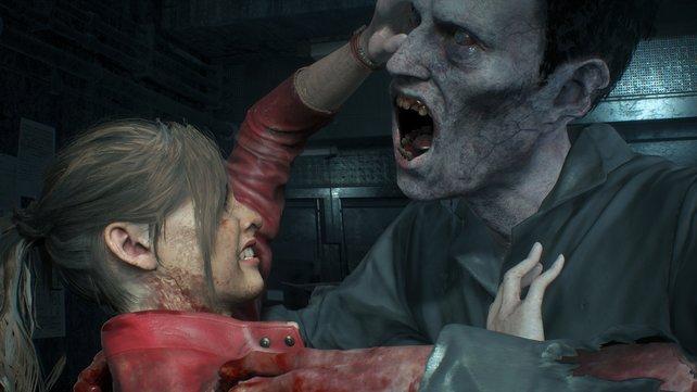 Manche der Zombies vertragen mehrere Kopftreffer.