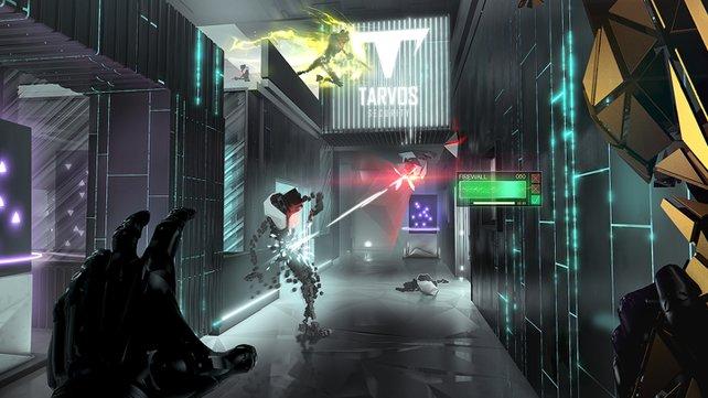 Breach kombiniert die abstraktesten Elemente zu einem Spiel.