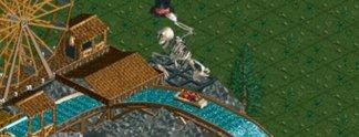 25 Meter freier Fall: Der Todessturz in Rollercoaster Tycoon