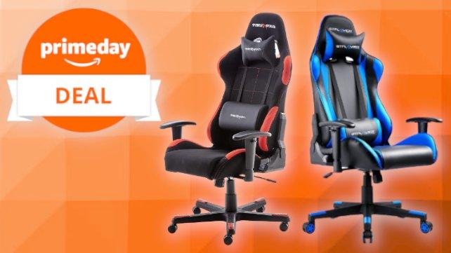 Am Prime Day sind Gaming-Stühle bei Amazon stark reduziert.
