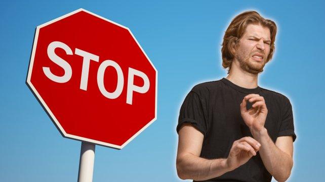 Twitch-Zuschauer feiern gerade ein unfähiges Stoppschild. Bildquelle: Getty Images/ master1305/ XtockImages