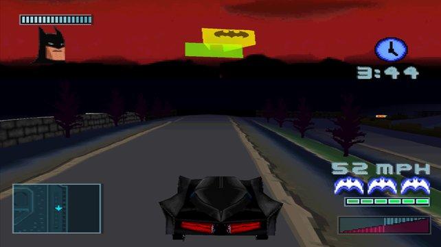 Es darf gerast werden: Batman - Gotham City Racer.