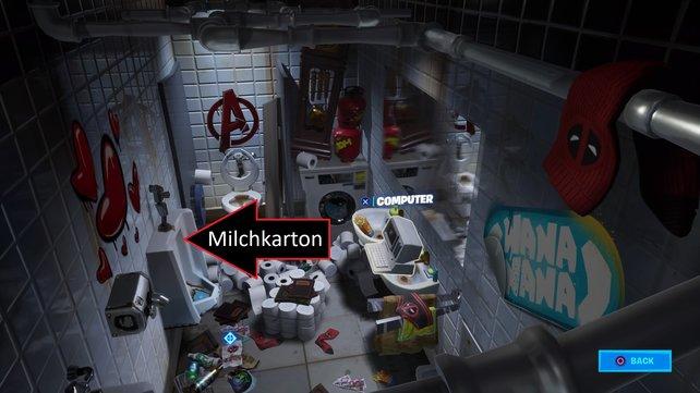 An dieser Stelle wird der Milchkarton von Deadpool erscheinen.