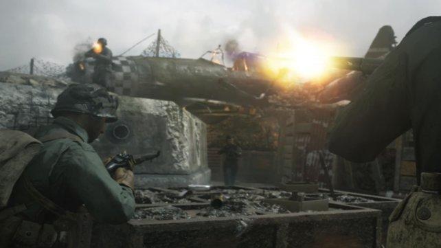 Der gefürchtetste Teilnehmer in der Schlacht: Der Scharfschütze.