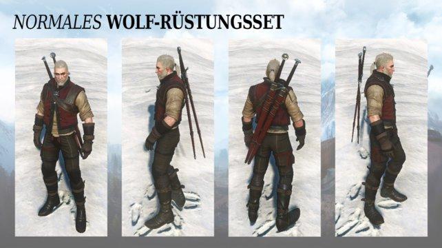 Einfache Wolfsschulenausrüstung