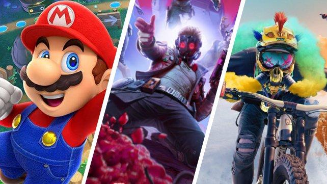 Super Mario, Marvel, Riders Republic - Der Spieleherbst tritt in seine bunteste Phase ein.