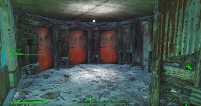 Nehmt die linke Tür um die Quest abzuschließen!
