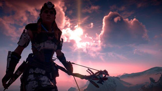 Bei Horizon Zero Dawn könnt ihr zahlreiche Nebenquests und Aufträge erledigen, die euch zusätzliche XP und Belohnungen bescheren.