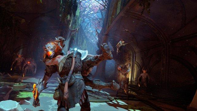God of War: Seid ihr euch sicher, dass die Gegner immer stärker werden? Oder passen sie sich Kratos' Stärke an?