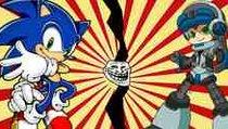 <span></span> Sonic trollt Mighty No.9