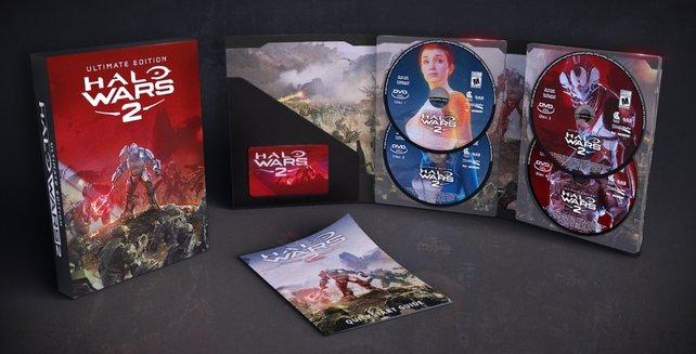 Rot ist Trumpf: Die Ultimate Edition besitzt ein rotes Cover, ansonsten gibt es kaum Unterschiede.