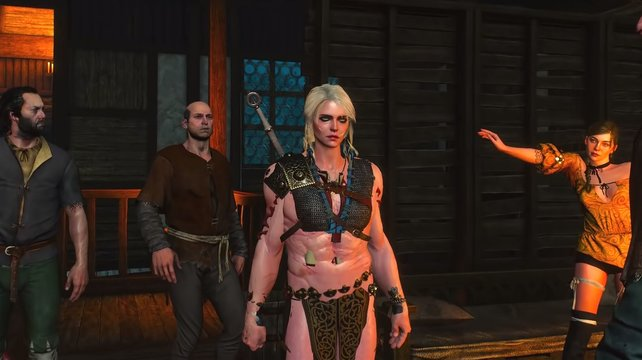 Dürfen wir vostellen – der Ciri-Geralt-Hybrid (Bild: YouTube / xLetalis)
