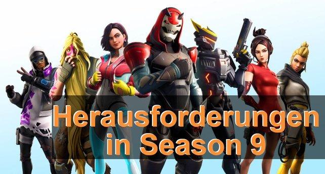 Wir liefern euch einen Überblick über alle Herausforderungen in Season 9.