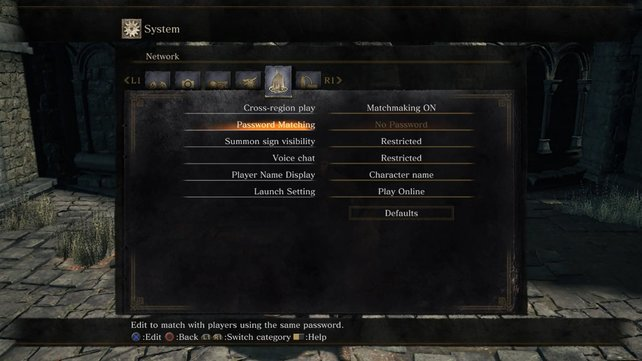 Dark Souls 3 - Passwort-System