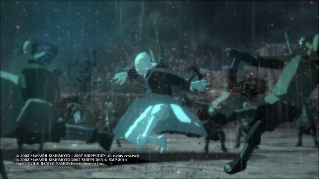 Diese Szene mit Obito gibt es so auch im Anime zu sehen.