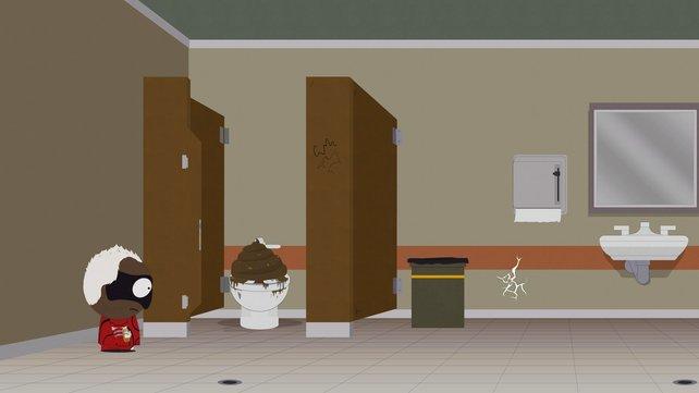 Manchmal sind die Toiletten in South Park: Die rektakuläre Zerreißprobe eine ganz schöne Herausforderung