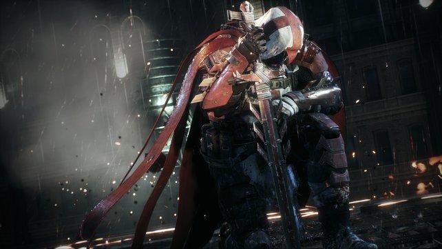 Mysteriös: Dieser Kreuzritter namens Azrael kehrt zurück und hat bereits früher Batman immer wieder geholfen.