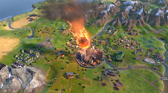 Ein neuer Spielmodus in Civilization 6 bringt eure Städte in Gefahr.