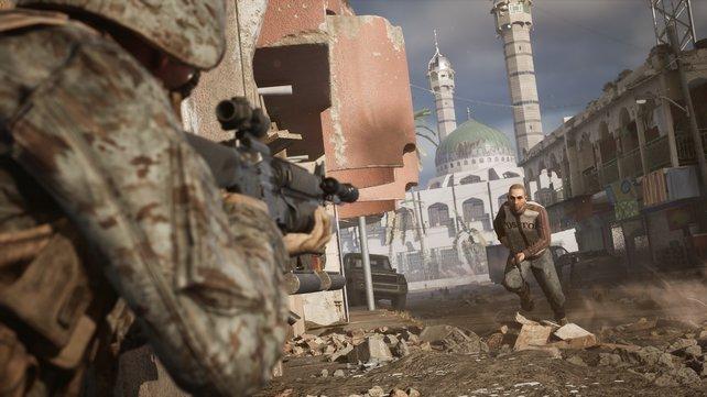 Kritiker wollen, dass PlayStation, Xbox and Valve den Shooter Six Days in Fallujah fallen lassen.