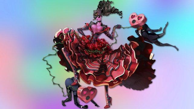 Carmen aus Persona 5: Sexuelle Dominanz und Abhängigkeit in personifizierter Form.