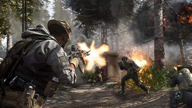 Im Multiplayer ist Call of Duty: Modern Warfare an und für sich eine Wucht - wenn nicht gerade wieder über ein Problem gestolpert wird.