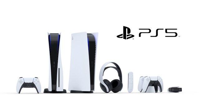 So sieht sie also aus: Das ist das neue Design der PlayStation 5 von Sony.
