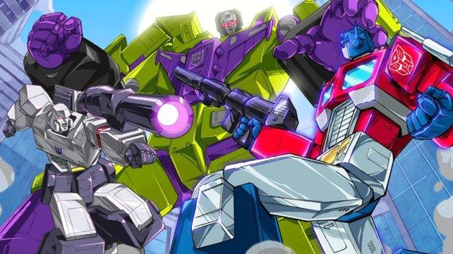 Der Zeichentrick-Stil steht den Transformers gut.