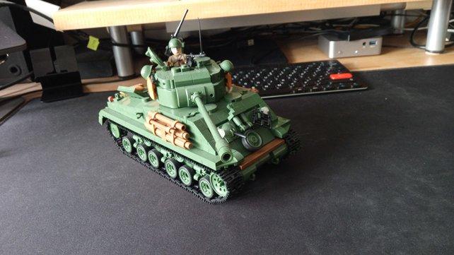 """Holt """"World of Tanks"""" zu euch nach Hause - die Welt Klemmbaumsteine-Sets (Bildquelle: """"spieletipps.de""""."""