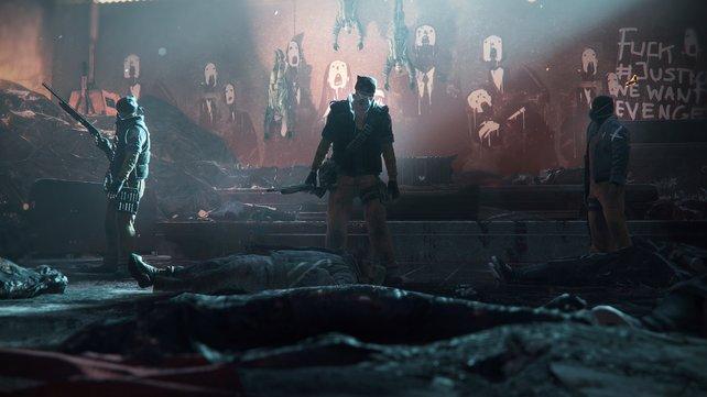 Horror-Szenario: Der biochemische Terrotisten-Angriff basiert auf einer echten Simulation des US-Militärs. Nach dem Motto: was wäre, wenn...