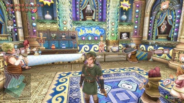 Grafikpracht, wie sie dem Spiel gebührt. Die bessere Auflösung zeigt, was in Twilight Princess steckt.