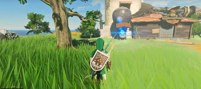 Sattere Farben und bessere Lichteffekte lassen Zelda: BotW in einem neuen Glanz erscheinen.