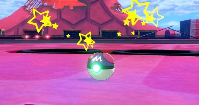 Dem Meisterball kann kein Pokémon Paroli bieten.
