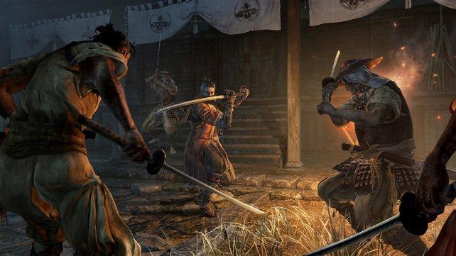Ohne Schwert geht nichts. Sekiro wurzelt in japanischer Folklore und Mythologie.