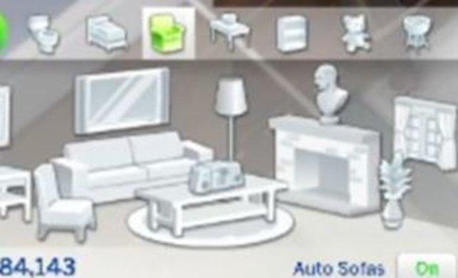 Ein Hit in Die Sims 3 – in Die Sims 4 lange vermisst: Individuelle Sofa-Kreationen. (Bildquelle: Simtimes.de.)