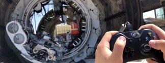 Tunnelbau mit Controllern: Elon Musk setzt auf Microsoft-Geräte