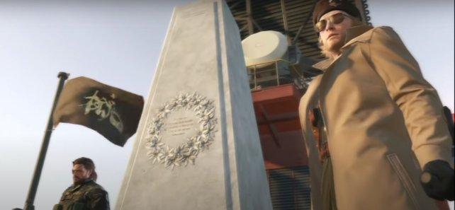 Metal Gear Solid 5: Zerstören die Spieler auf einer Plattform alle Atombomben, wird dies mit einer geheimen Cutscene gewürdigt.