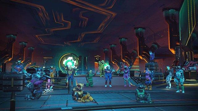 Erst seit einigen Monaten können sich Spieler in einem Social Hub in der Spielwelt treffen. Das hat die Community all die Jahre zuvor trotzdem nicht vom Rollenspiel abgehalten.