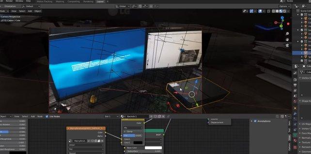 Im Making Of demonstriert der YouTuber, mit welchen Kniffen er das PS5-Fake-Video erstellt hat.