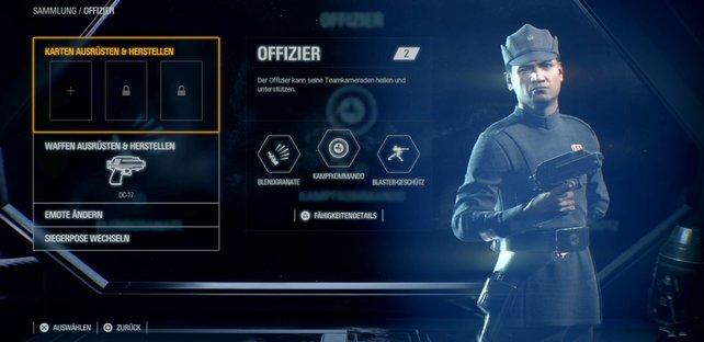 Ein Muss für jeden funktionierenden Trupp: Die Offiziere in Star Wars Battlefront 2.