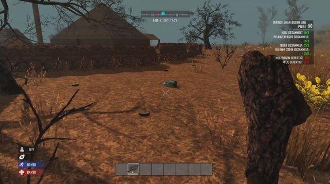 Vorsicht: Fallen wie die Minen sind leicht zu übersehen.