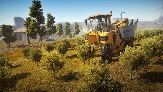 Ein neuer Rivale im landwirtschaftlichen Genre: Pure Farming bietet viele Szenarien.
