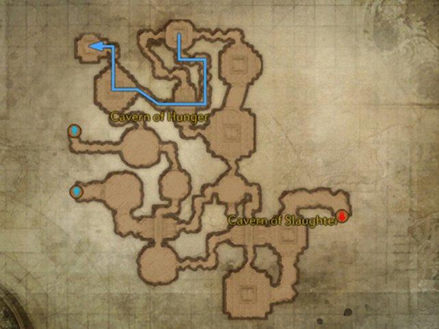 Karte Goldenes Labyrinth 1.