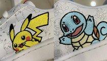 Sneakers von Adidas mit Pikachu und Schiggy