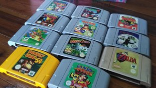 Keller wird geflutet - Oma verschenkt erstklassige N64-Games
