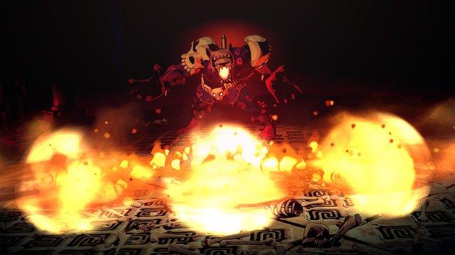 Bosse stellen in Curse of the Dead Gods die ultimative Herausforderung dar.